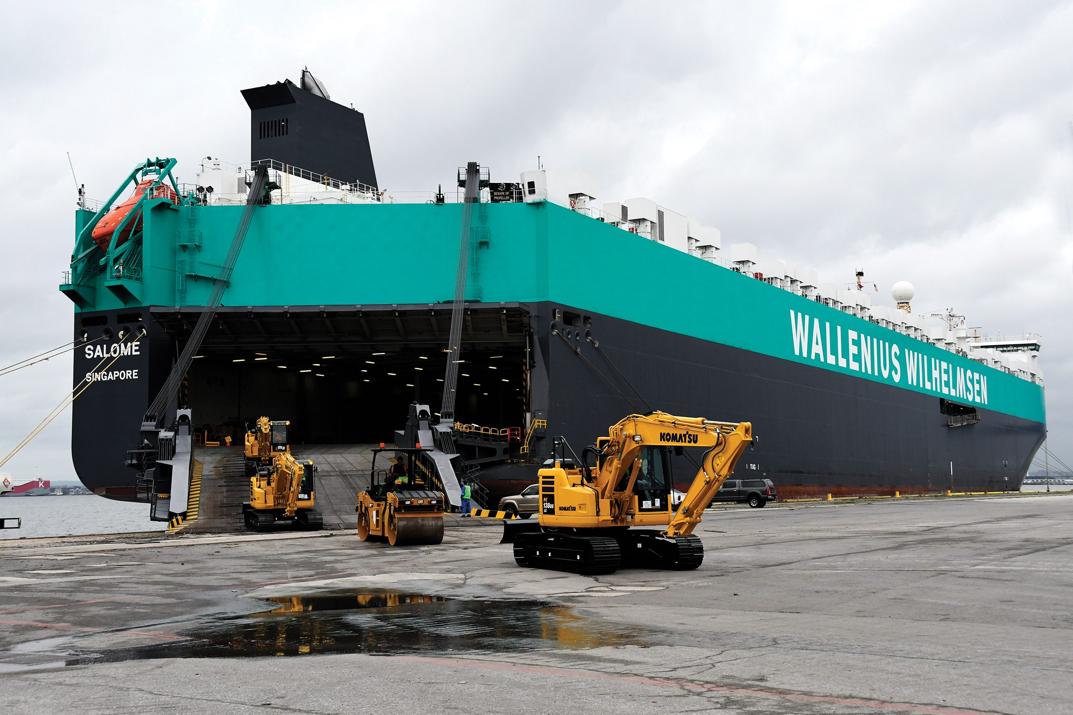 Wallenius Wilhelmsen's Salome Flashes New Colors